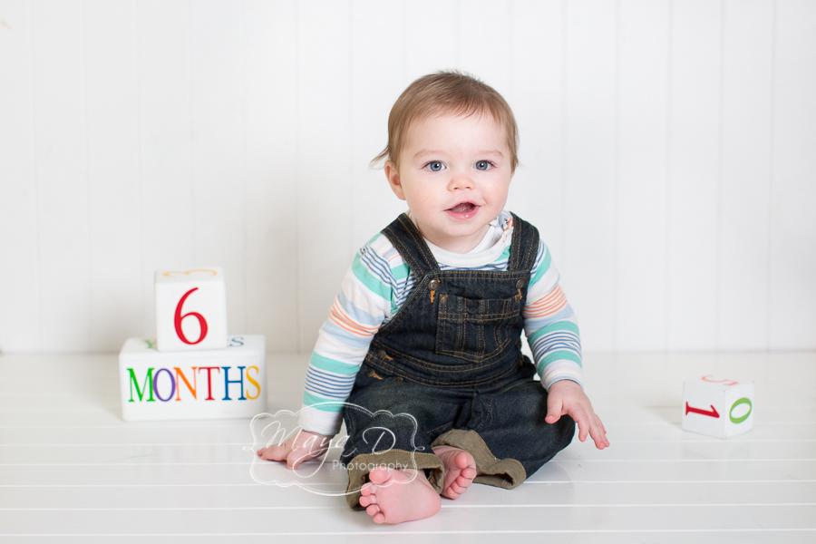6 months portrait