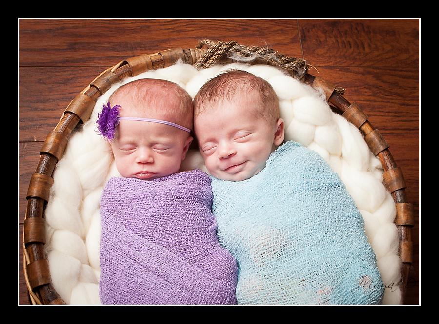 Twin Newborn Photography Columbus, OH