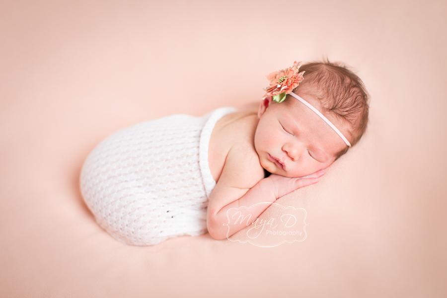 newborn wrap in lace