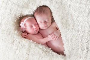 twin newborn portrait columbus ohio