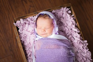 infant girl bonnet